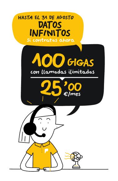 Tarifa 100GB