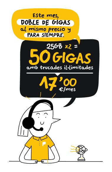 Tarifa 50GB