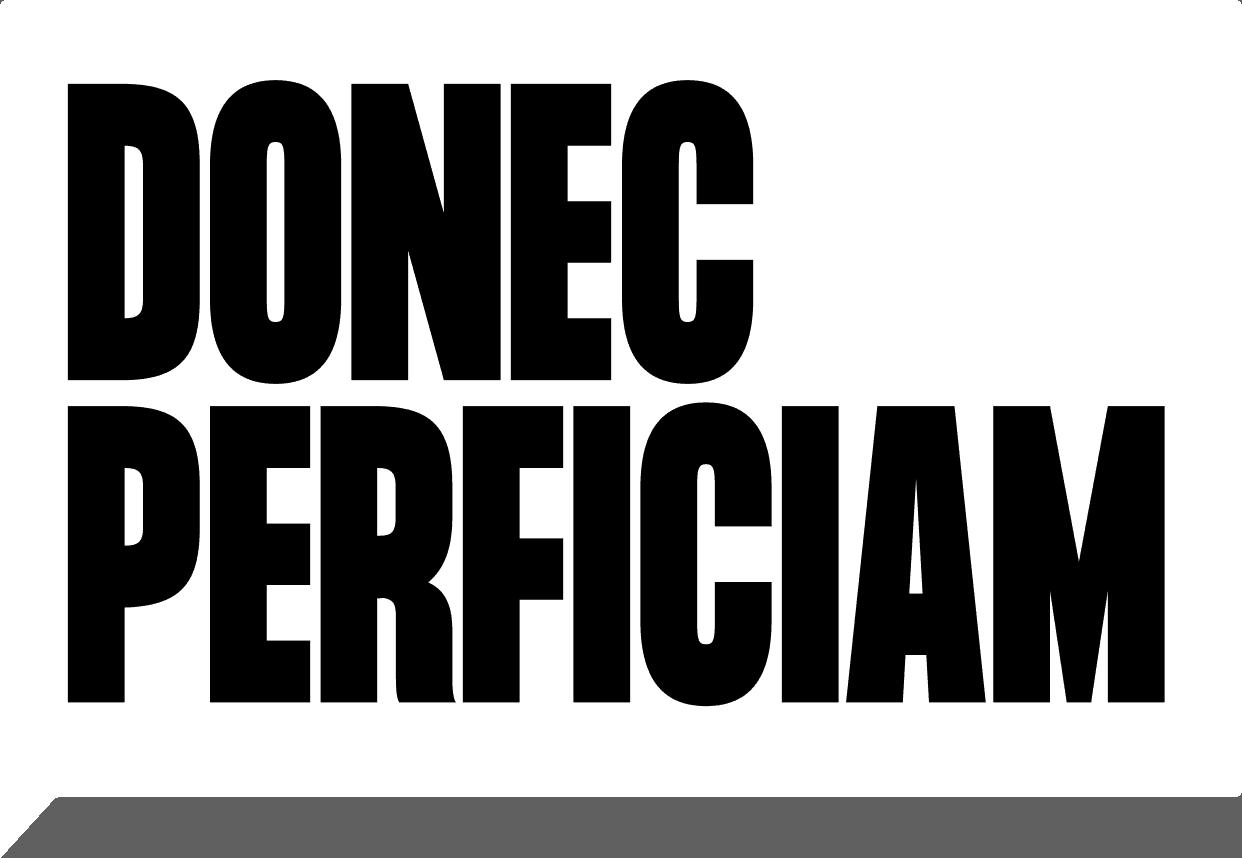 Donec Perficam